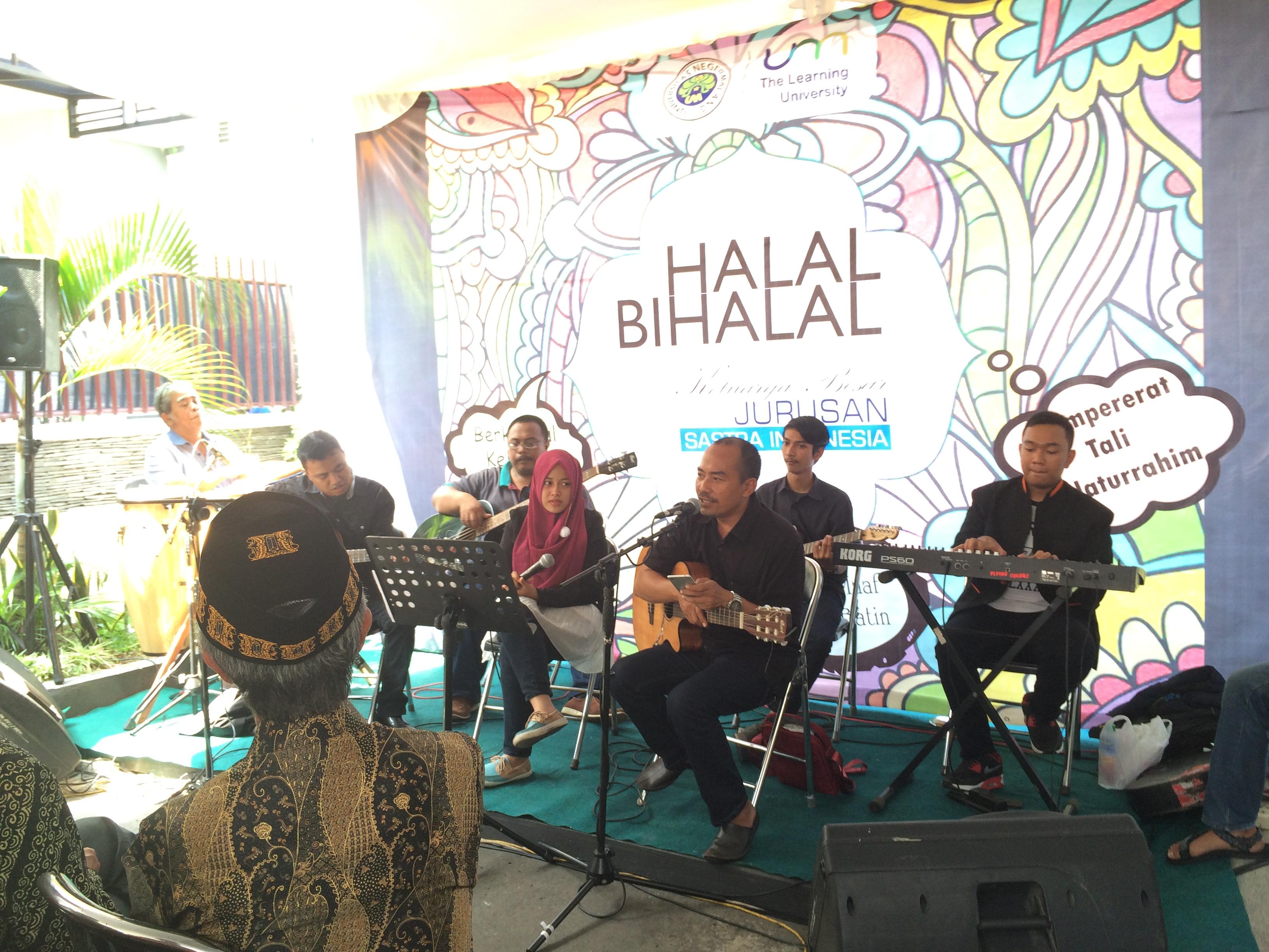 HALAL BI HALAL JURUSAN SASTRA INDONESIA 1437 H