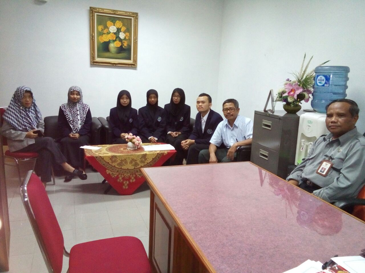 kegiatan KPL mahasiswa di Perpustakaan Bung Karno Blitar