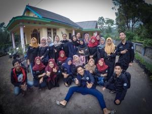 foto bersama mahasiswa UM