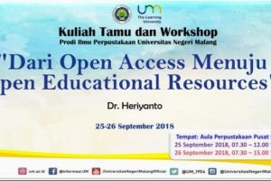 Dari Open Access Menuju Open Educational Resources 2