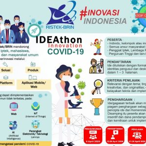 IDEAthon Kemristek/BRIN- Gotong Royong Melindungi Bangsa