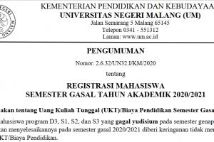 REG SMT GASAL UM 2020-2021